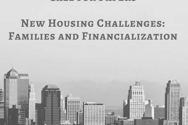 Call for Papers: New Housing Challenges Workshop