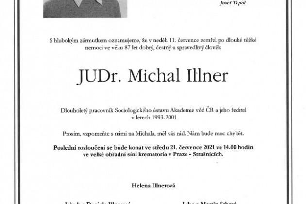 Opustil nás sociolog města Michal Illner