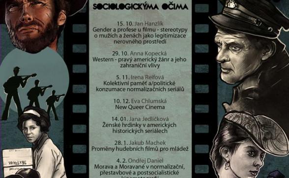 Film a televize sociologickýma očima plakat