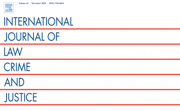International Journal of Law, Crime and Justice (Vol. 65, June 2021)