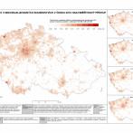 Podíl cizinců v individualizovaných sousedstvích v Česku 2015: multiměřítkový přístup