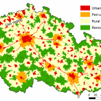 Fig. 1. Core-periphery typology of Czechia