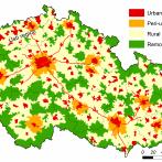Fig. 1. Core-periphery typology of Czechia