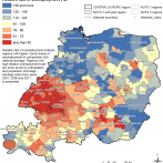 Relative Rate of Unemployment (%) In Central Europe