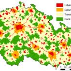 Typologie území Česka