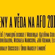 NKC - ženy a věda na AFO 2015